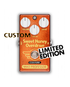 Sweet Honey Overdrive with Fat Bee mod, Custom Series, Limited Edition Mad Professor pedal.