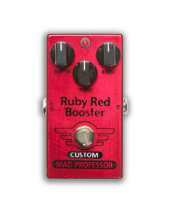 Nashville Hot Mids Solo Boost modded Ruby Red Booster