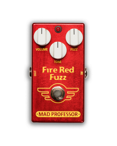 Fire-Red-Fuzz-Factory-Pedal-Front-Mad-Professor-Amplification