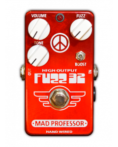 Fuzz32 Red is a Limited Edition germanium fuzz pedal by Mad Professor