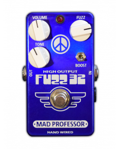 Fuzz32 Blue is a Limited Edition germanium fuzz pedal by Mad Professor