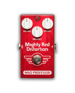 Mighty-Red-Distortion-Factory-Pedal-Front-Mad-Professor-Amplification