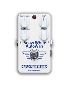 Snow-White-Auto-Wah-Hand-Wired-Front-Mad-Professor-Amplification