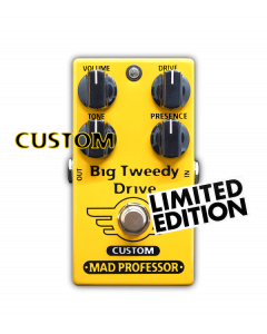 Big Tweedy Drive with Super Tweed mod, Custom Series, Limited Edition Mad Professor pedal.