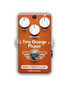 Tiny Orange-Phaser-Hand-Wired-Front-Mad-Professor-Amplification