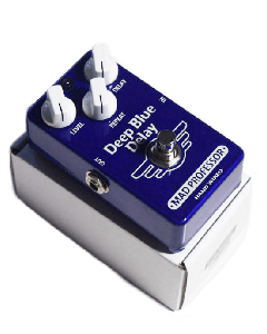 Deep Blue Delay (Hand Wired)