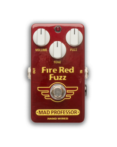 Fire-Red-Fuzz-Hand-Wired-Front-Mad-Professor-Amplification