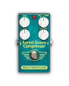 Forest-Green-Compressor-Factory-Pedal-Front-Mad-Professor-Amplification