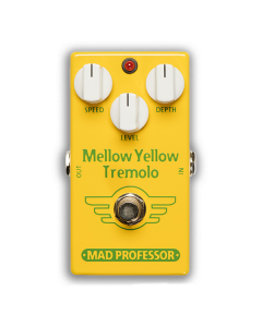 Mellow-Yellow-Tremolo-Factory-Pedal-Front-Mad-Professor-Amplification
